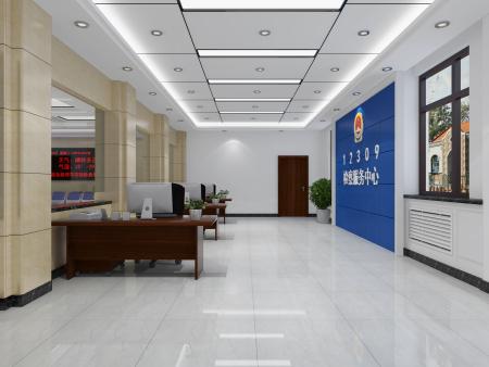 科爾沁區檢察院大廳裝修
