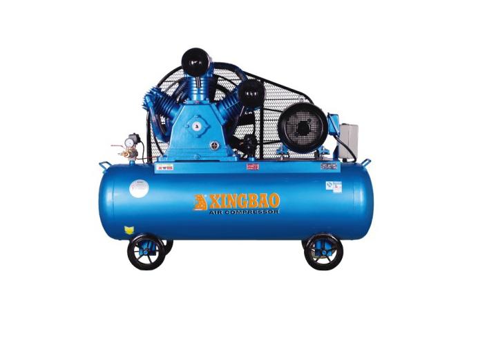 星豹皮帶式雙級壓縮機