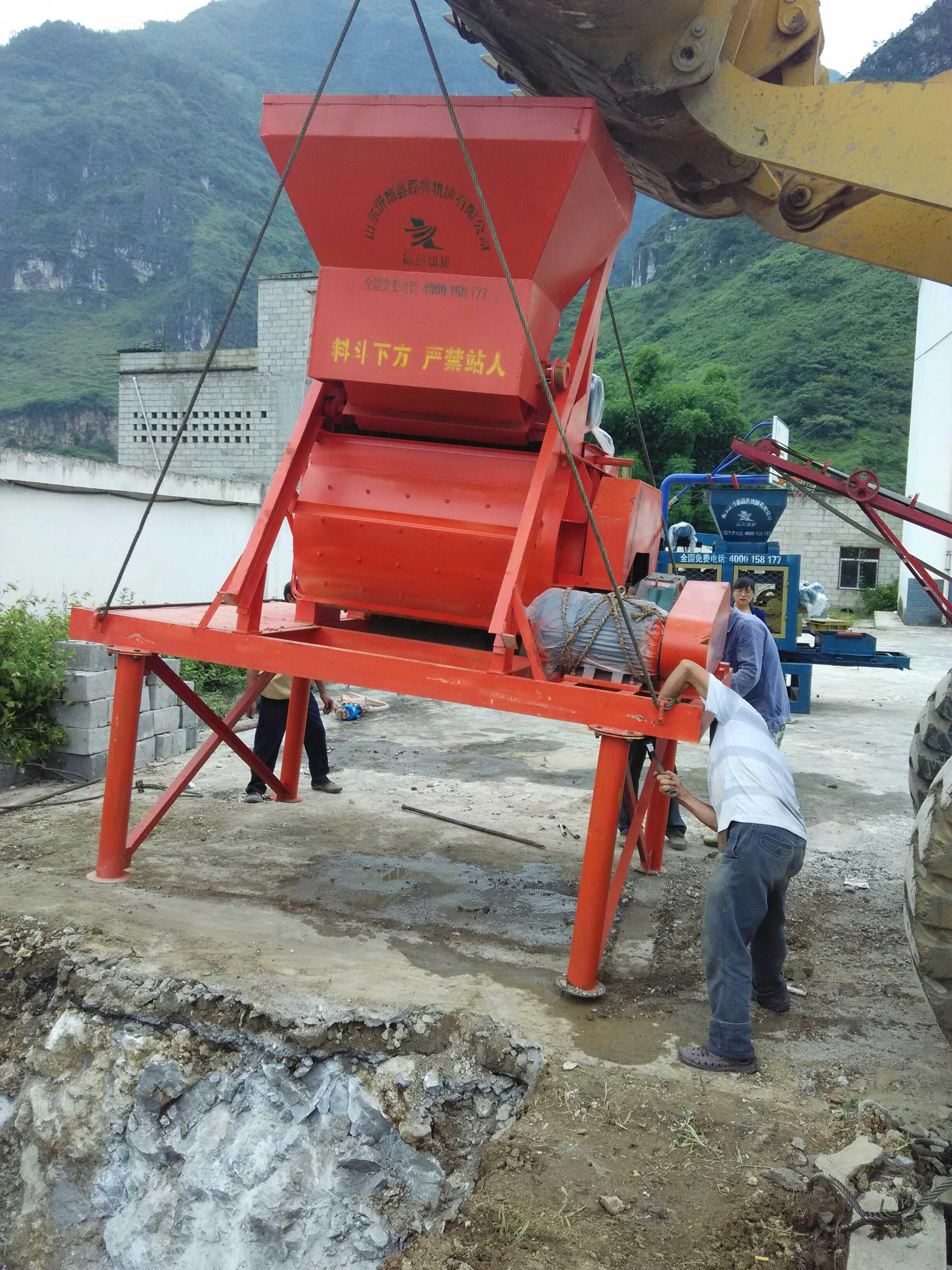 利于環保水泥制磚機發展前景寬廣