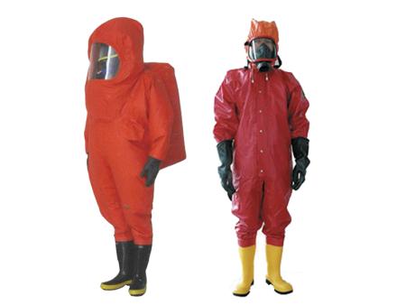 全密封式,半密封式消防防化服