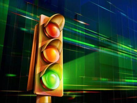 智能交通信号灯缓解城市拥堵