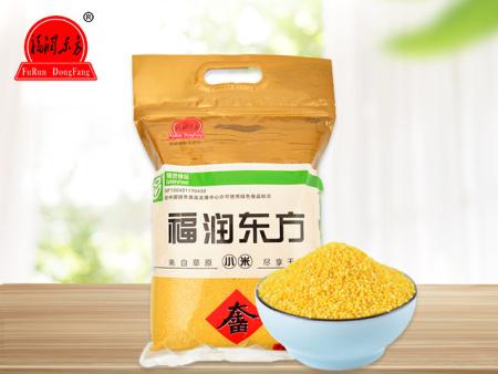 福润东方18年装新米赤峰特产大金苗黄小米月子米粥2.5kg