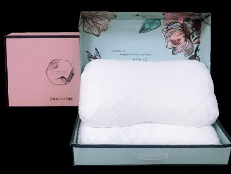 梦洁睡魔仕按摩防螨乳胶对枕