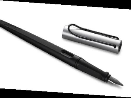 joy喜悦磨砂杆黑夹钢笔