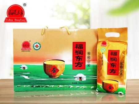 大金苗有机小米5kg礼盒