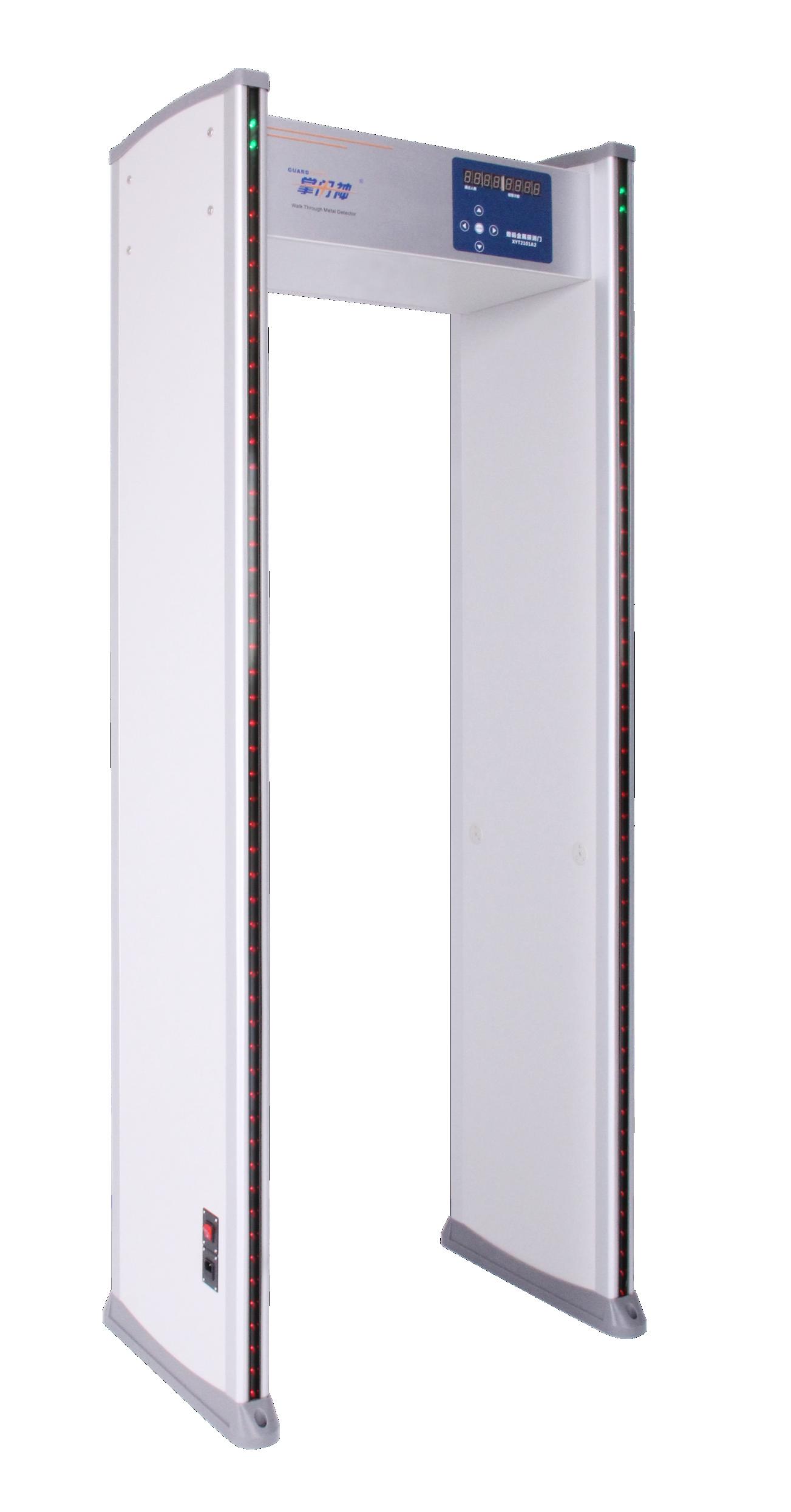 XYT2101-A2型数码金属探测门