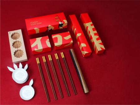 年俗实物筷碟组合