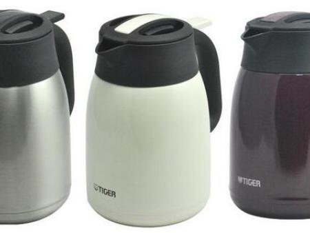 虎牌不锈钢便携式保温咖啡壶