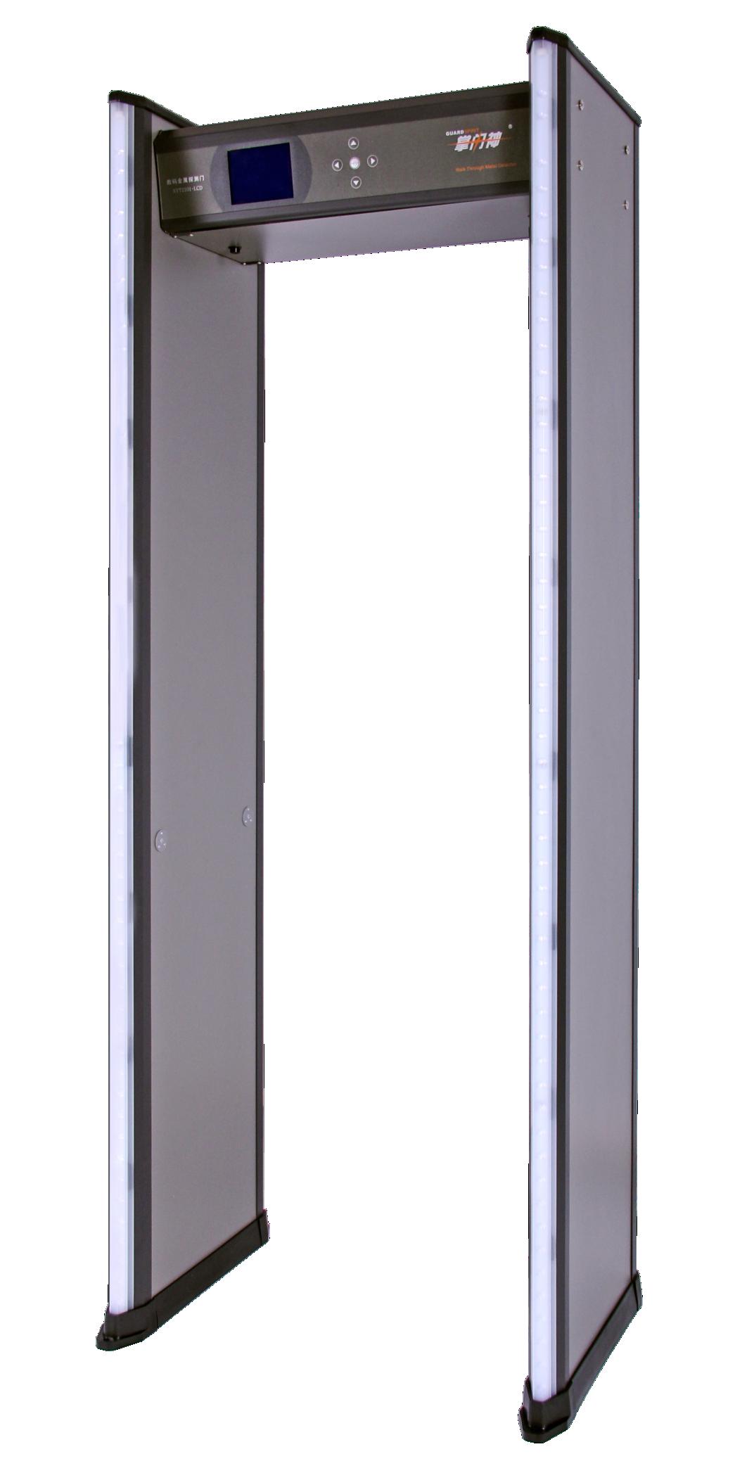 XYT2101-LCD型数码金属探测门