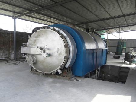 废轮胎炼油设备维修和保养