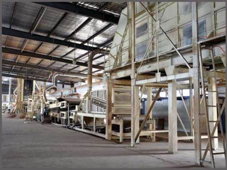 菱镁板生产线