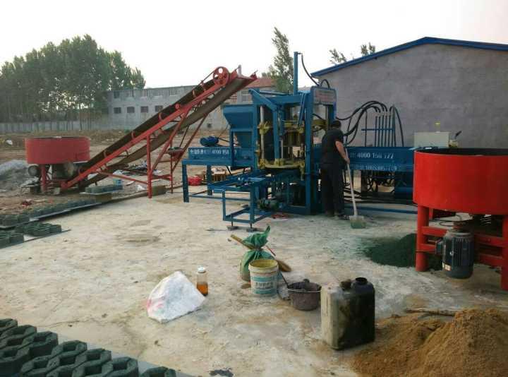 液壓水泥制磚機全自動多少錢一臺