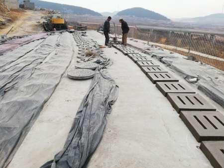 水泥地沟篦子施工现场