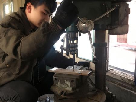 赵虎,2016届毕业生,现就业于兰运集团