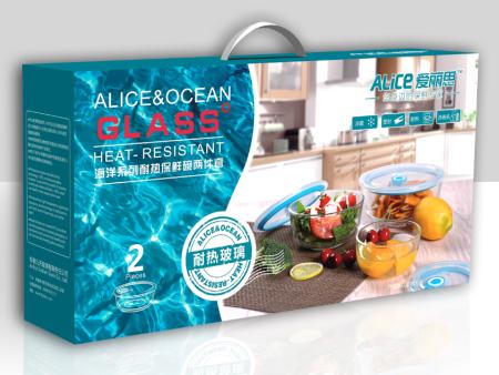 海洋系列耐热保鲜碗两件套