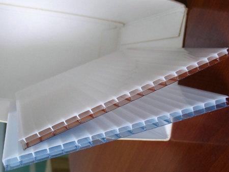 陕西阳光板-三层双色炫彩阳光板