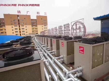 三和广场超低温热泵采暖主机系统(45000m2)