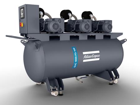 油潤滑旋片泵微型真空系統