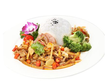 香干肉丝170g 蒸烩煮快餐料理包 速食菜方便菜半成品调理包