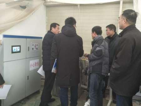甘肃省地震局监测站采工程验收检查