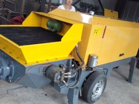 矿用混凝土输送泵等设备要留意操作标准