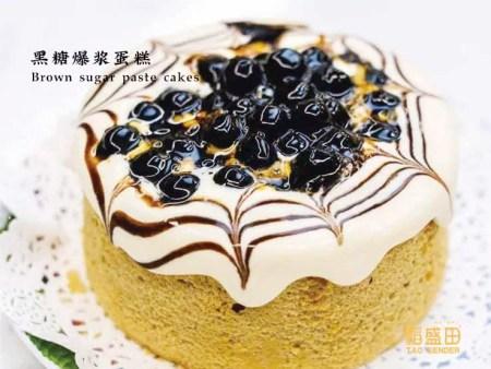 黑糖爆浆蛋糕