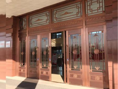 玻璃工装门