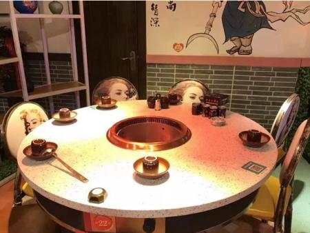 【兰州火锅桌】富贵为您分享无烟火锅桌的八大保养知识