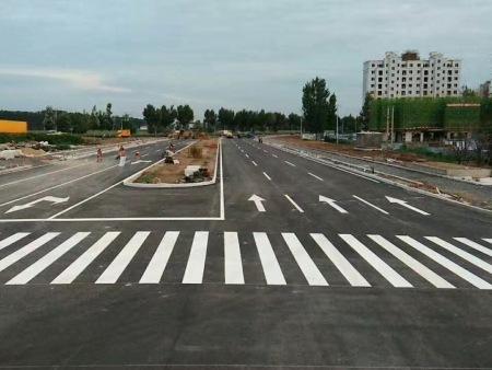 哈尔滨道路划线施工:介绍道路划线有什么其他功能