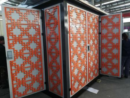 兰州高低压配电柜-冷板加金属花纹板