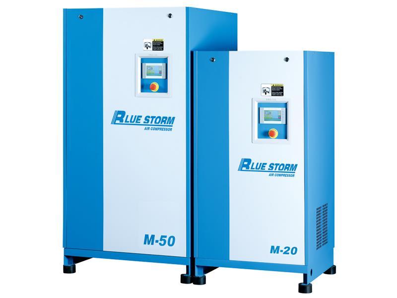 藍色風暴永磁變頻螺桿機