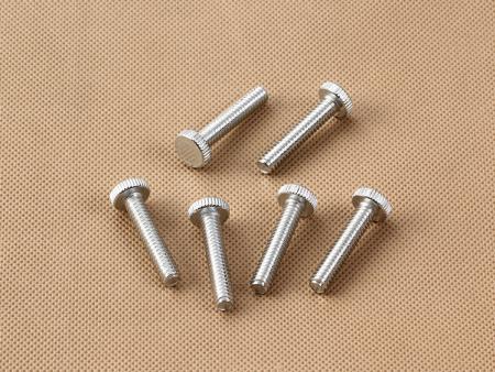 铁镀锌非标定制滚花螺丝