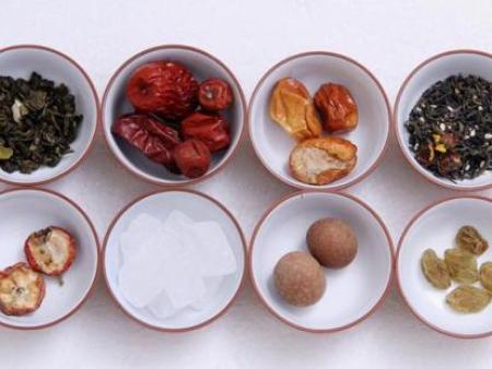 八宝茶的配料以及制作