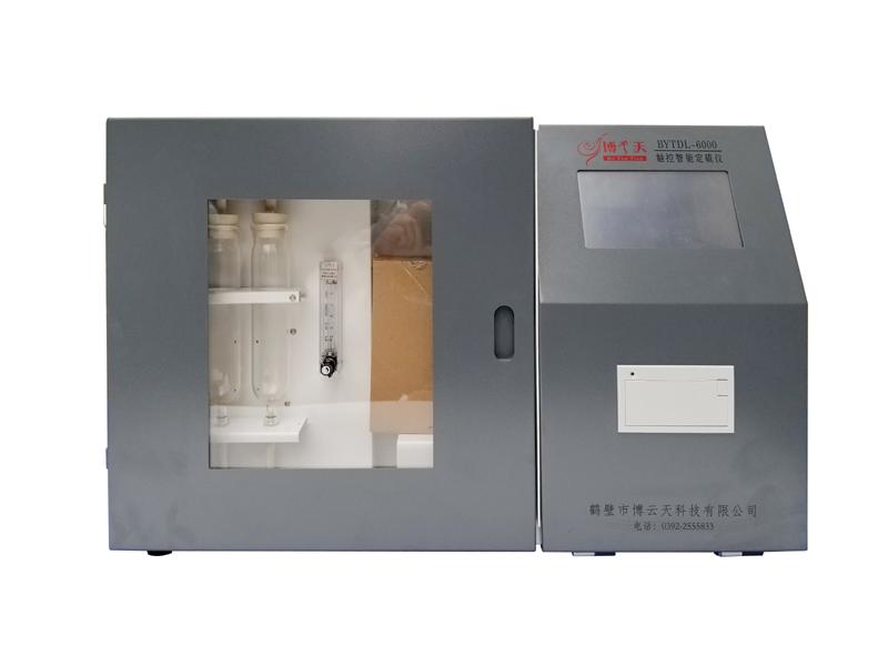 煤炭化验设备定硫仪/测硫仪BYTDL-6000触控智能定硫仪