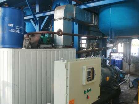 熱烈祝賀遼寧天意實業股份有限公司--使用我公司--冰水機工業防爆螺桿冷水機組調試成功?。。?!