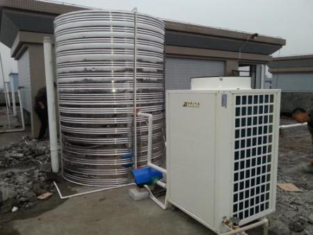 空气源热泵采暖系统中缓冲蓄热水箱的安装调试方法
