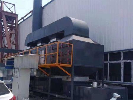 目前污水处理厂工程上常用恶臭气体技术