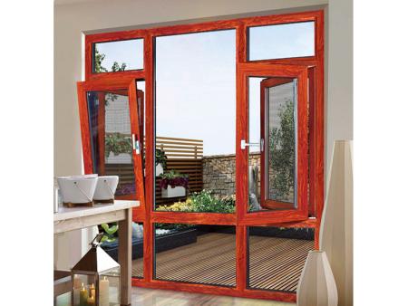 鋁木復合窗