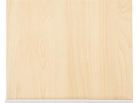 华森葳三层高柜抽拉竖板-暖白