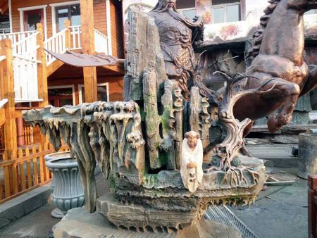 兰州园林景观公司简述关于景观雕塑的相关设计施工知识点