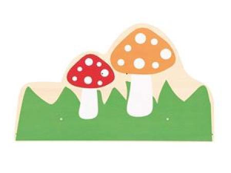 华森葳主题背板-蘑菇
