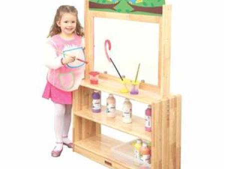 华森葳 雅典花园-实木画板柜