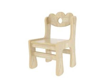 华森葳 雅典花园幼教椅25CM-橡胶木纹