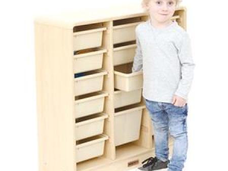 华森葳挪威森林-教具盒柜