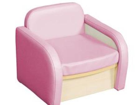 华森葳 淘乐幼儿单人沙发-粉色