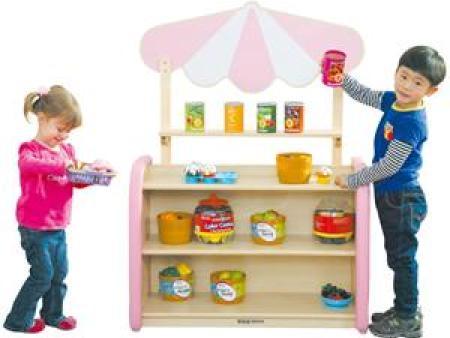 华森葳 淘乐幼儿贩卖台-粉色