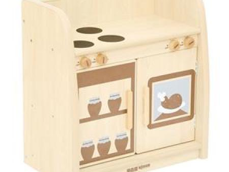华森葳 淘乐自然厨房柜(灶台组)-木色
