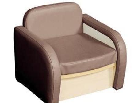 华森葳 淘乐幼儿单人沙发-浅棕色