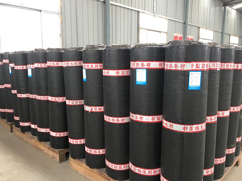 卷材防水材料的施工方法