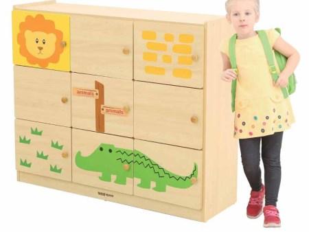 华森葳 森林主题功能家具-森林9格工作柜